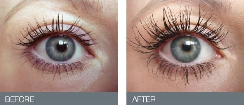 Image result for eyelash serum before and after