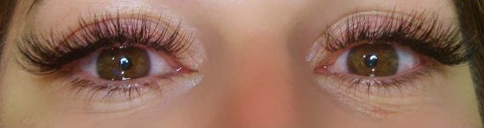 types of eyelash extensions
