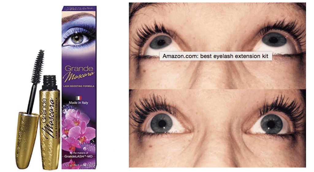 3ed77721199 Extra points if you go for one that's also a lash growing mascara and will  help your lashes grow back ...