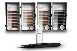 Eyebrow Extension Kit with Mink Eyebrows & Clear Glue