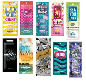 California Tan 10 Assorted Indoor Tanning Lotion packets