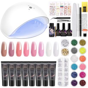 Cooserry Poly Gel Nail Kit